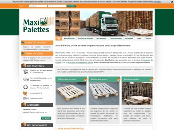 Récupération, réparation palettes bois, Val-d'Oise