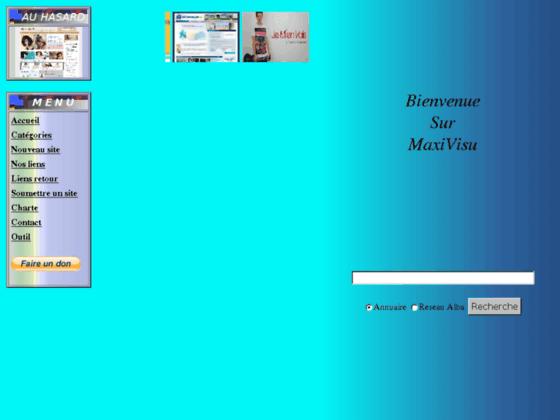 Annuaire MaxiVisu