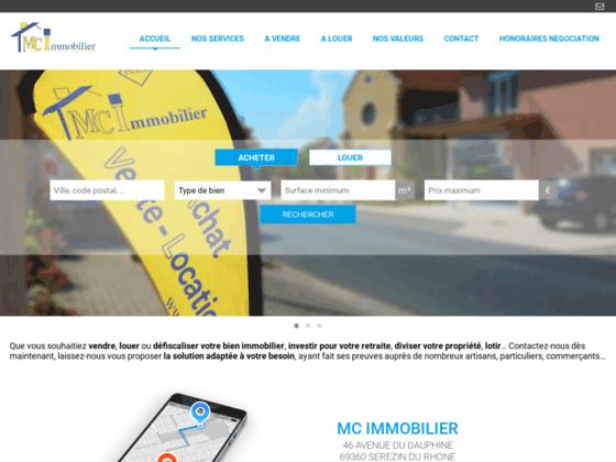 MC Immobilier Agence Immobilière Lyonnais Pays d'O