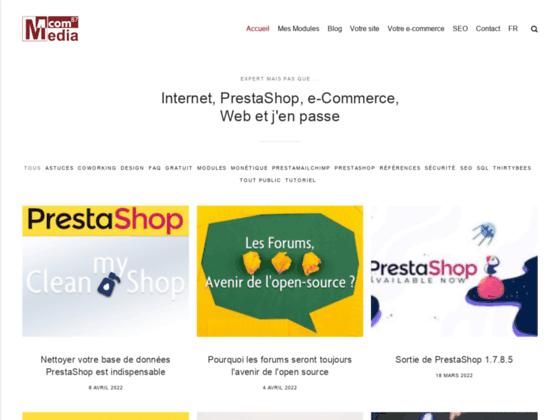 Développement, Design et référencement de sites Internet