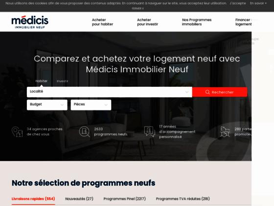MEDICIS PATRIMOINE Immobilier neuf à Paris programmes immobiliers neufs à Paris Appartement neuf à P