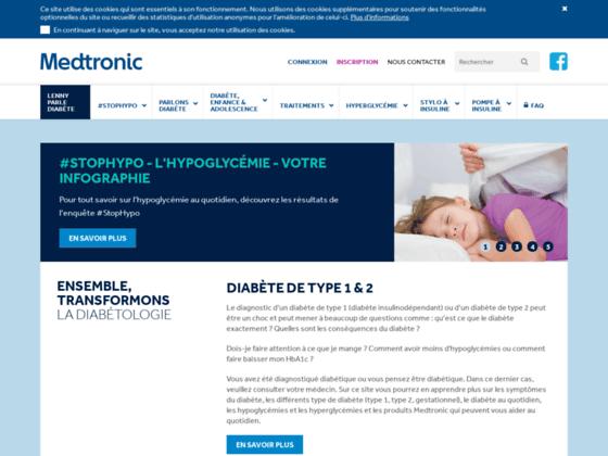 Pompes à insuline etthérapie par pompeMedtronic