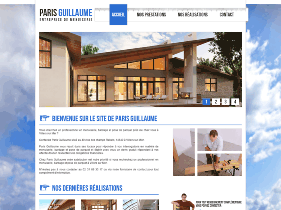 Paris Guillaume : Pose de parquet 14