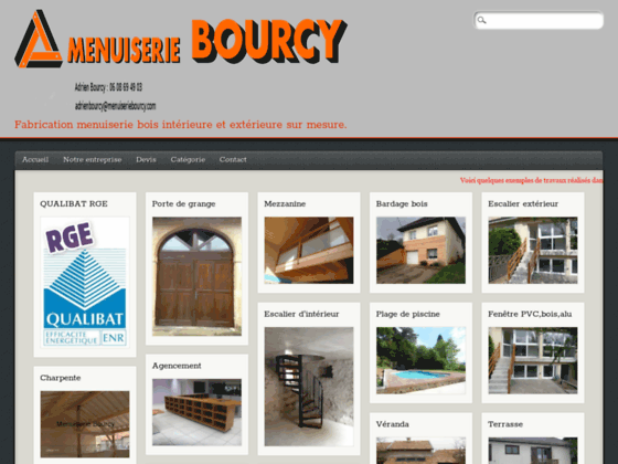 Menuiserie Bourcy fabricant menuiserie bois