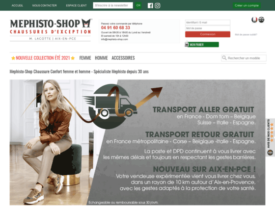 Mephisto-Shop - Chaussures tous conforts