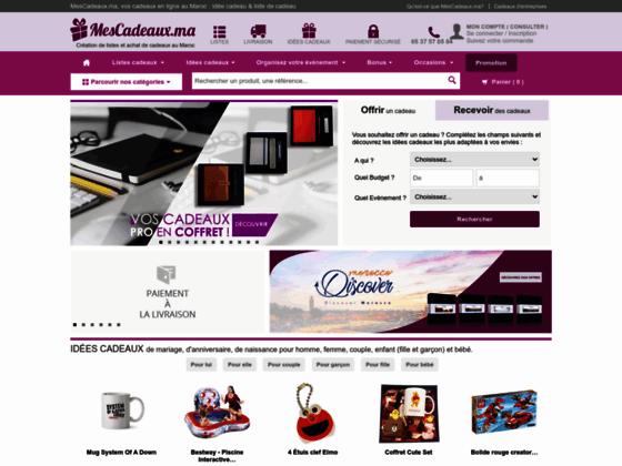 vente de cadeaux en ligne au Maroc