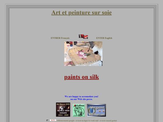 Galerie peinture sur soie