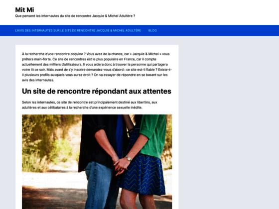 Mitmi.fr le site gratuit de rencontres et sorties