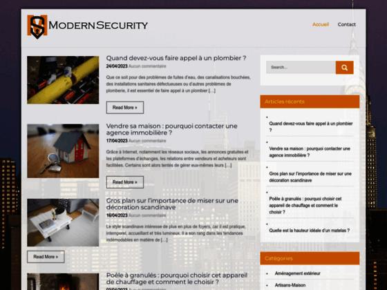 Modern Security : Société de sécurité, Gardiennage