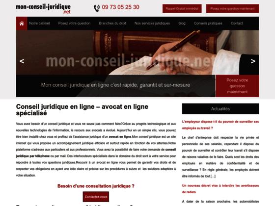 Mon conseil juridique: Service, assistance et conseiller juridique