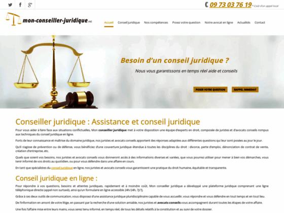Conseil - conseiller juridique en ligne