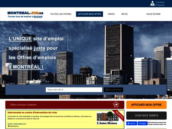 Emploi commisà Montréal