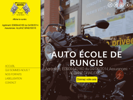 AUTO ECOLE DE RUNGIS auto école 91