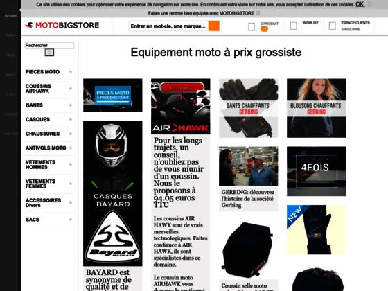 Equipement moto & Accessoires Moto | MOTOBIGSTORE