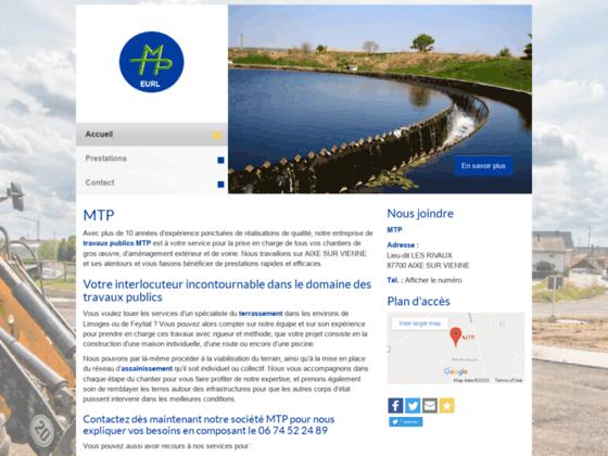 MTP travaux publics Limoges