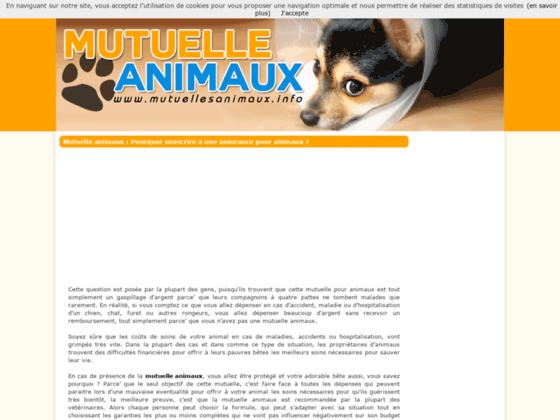 mutuelle pour animaux de compagnie