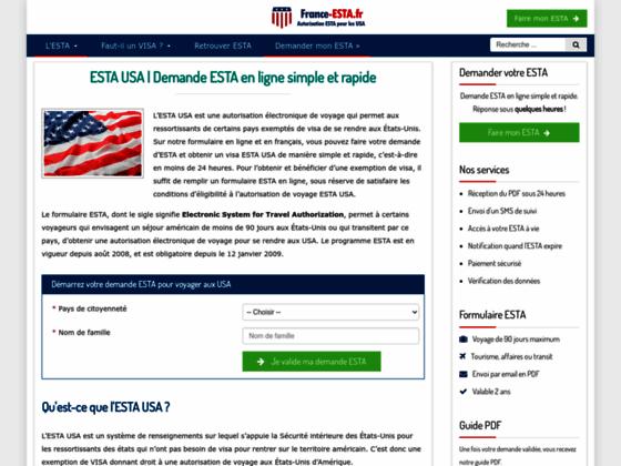 Exemption de VISA pour les USA