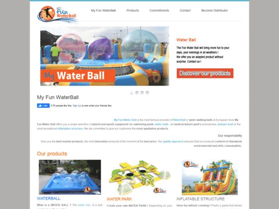 Achetez vos waterballs sur le n1 en Europe de la Waterballs et des structures gonflables.