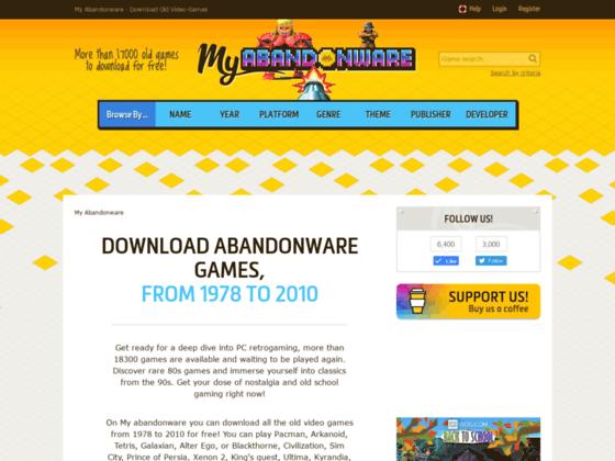 2000 vieux jeux à télécharger