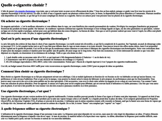 e-cigarette & eliqudie