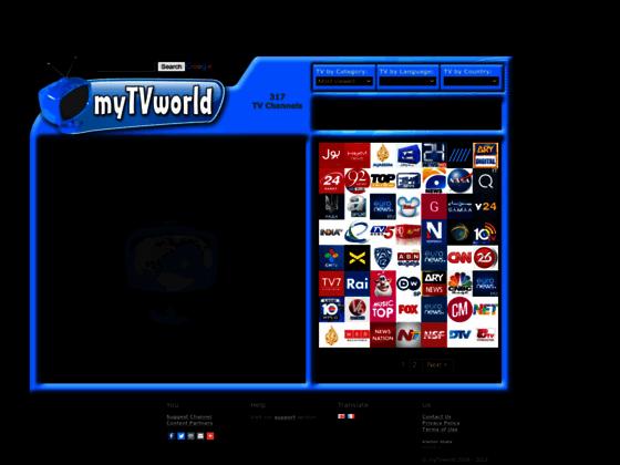 Regardez la télé du web avec myTVworld.com