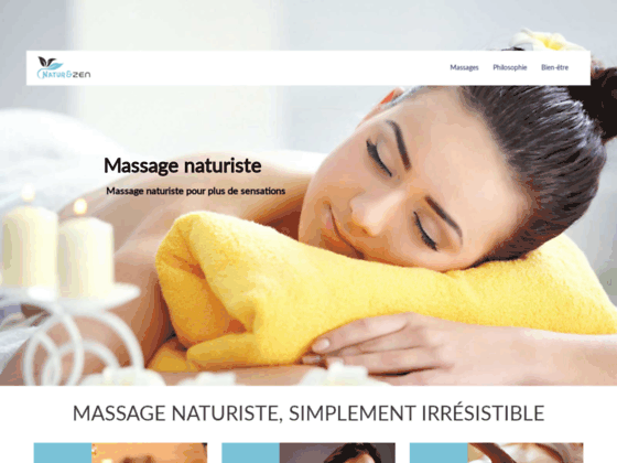 Massages naturistes Paris