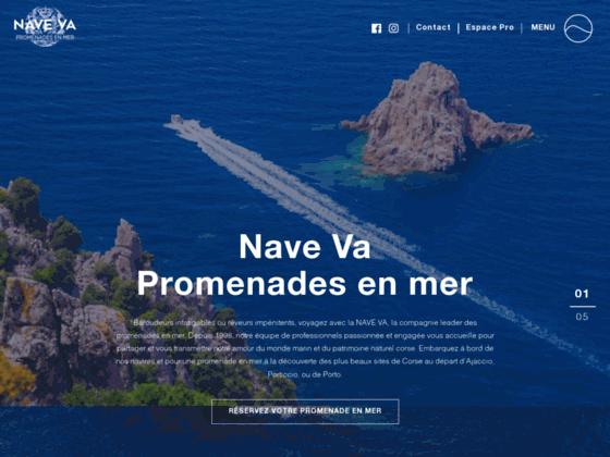 Promenades en mer en Corse: les promenades en mer Nave Va vous font découvrir la corse par la mer