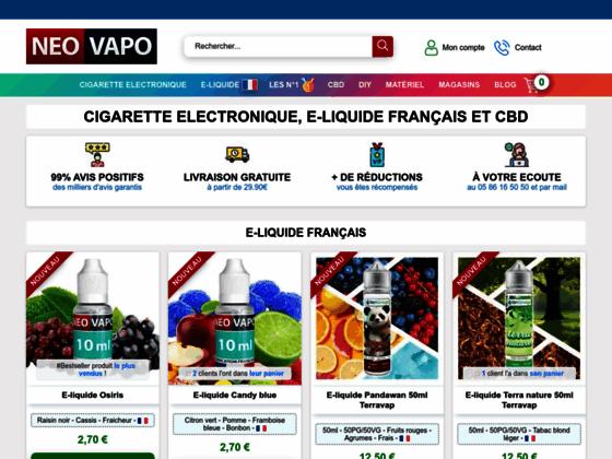 Le bon choix d'e-cigarette avec Neovapo.