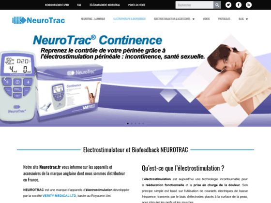 NeuroTrac MyoPlus 4 : Electrostimulation