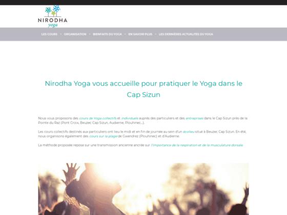 Nirodha Yoga - Nirodha-Yoga, Bienvenue !