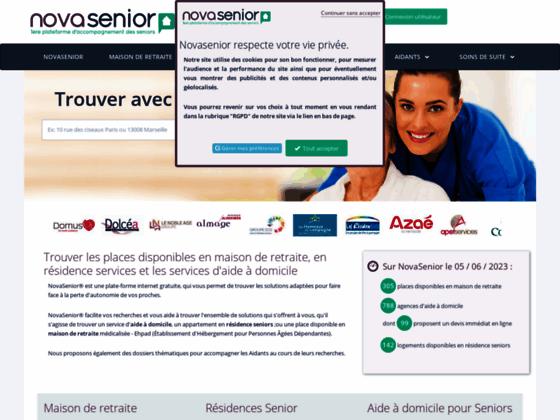 Trouver une maison de retraite avec NovaSenior