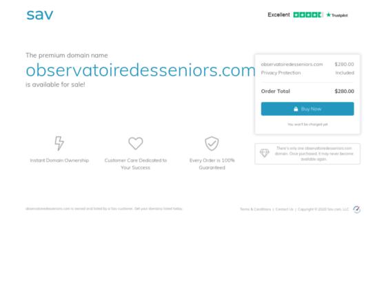 Emploi des seniors actifs et services pour retraités actifs avec l'Observatoire des Seniors