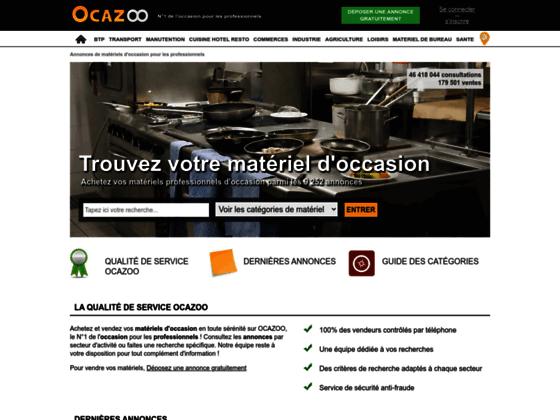 Ocazoo : petites annoncs entre professionnels