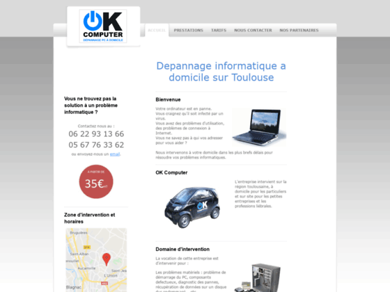 Accueil - depannage informatique toulouse - assitance pc toulouse - maintenance ordinateur 31