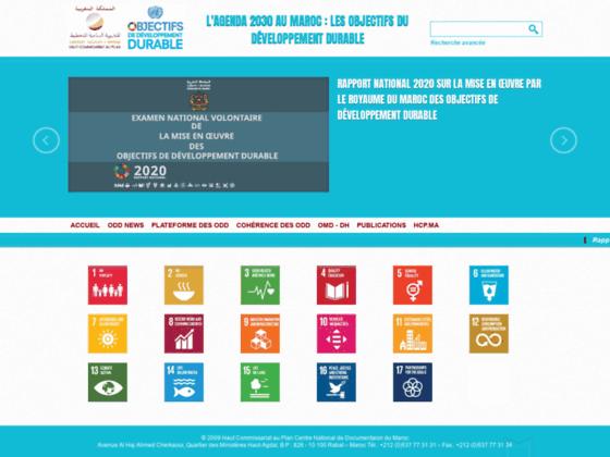 OMDH : Portail du Haut Commissariat au Plan du Maroc sur le Développement Humain et les Objectifs d
