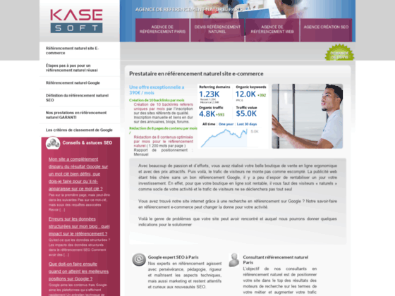 Agence web referencement naturel