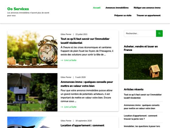 OOservices.fr, site d'annonce gratuite en ligne