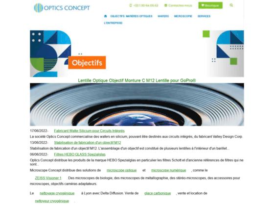 Optics Concept Composants Optiques