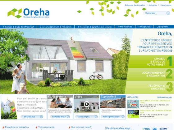 OREHA rénovation énergétique de votre habitat
