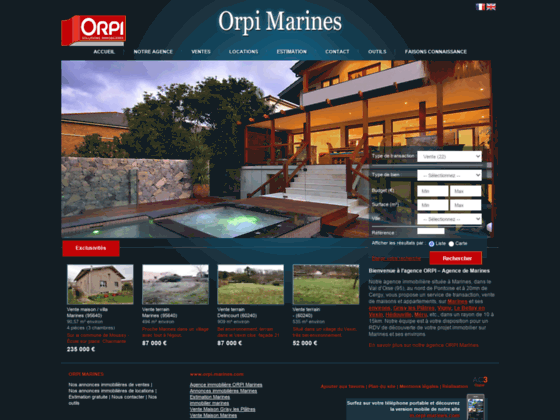 agence immobilière Agence ORPI sur Marines