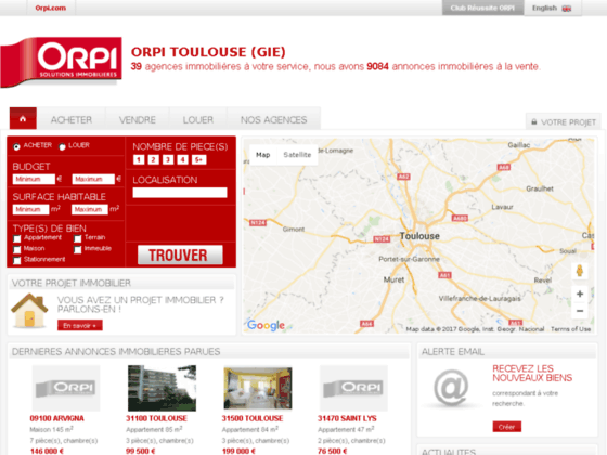 Agence immobilière ORPI Toulouse