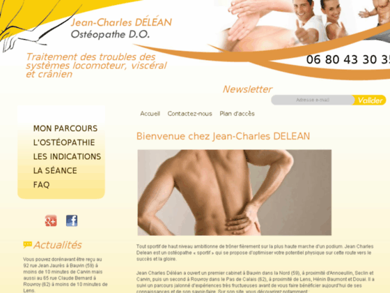 Ostéopathe Bauvin