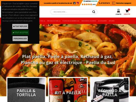 Trépied pour paella