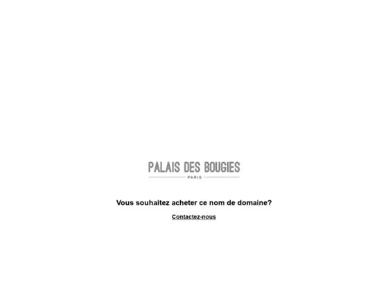 palaisdesbougies.com