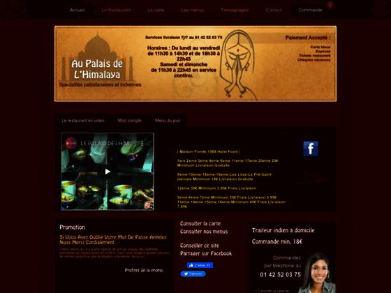 Au Palais de l'Himalaya restaurant Paris 04