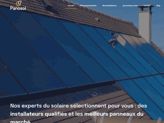 chauffe eau solaire sur mesure proposé par Panosol