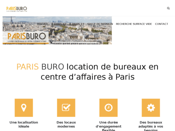 location de bureaux paris