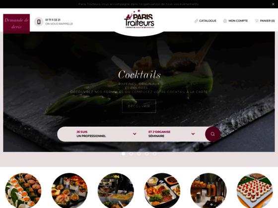 paris-traiteurs.com - Plateau repas Paris