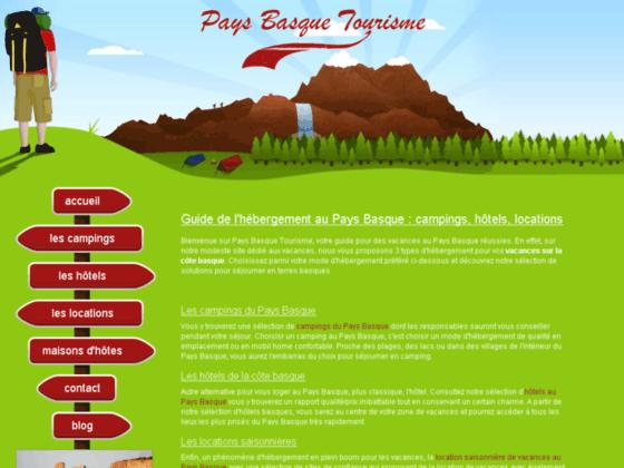 Location saisonni�re sur la c�te basque en France