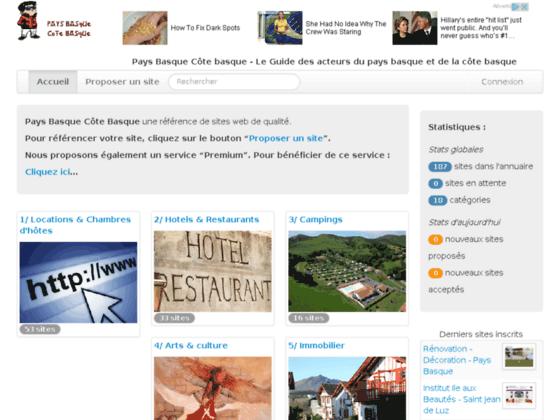 Pays Basque et Cote Basque - Guide touristique basque